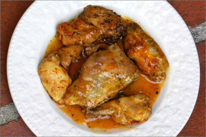 Receta de pollo con hierbas provenzales fácil y rápida