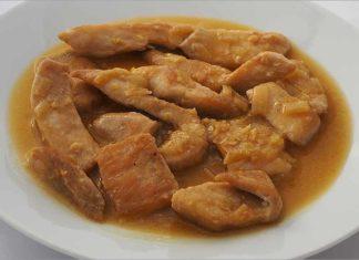 Receta de pollo con jengibre y limón fácil y rápida