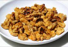 Receta de pollo con nueces fácil y rápida