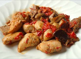Receta de pollo con verduras fácil y rápida