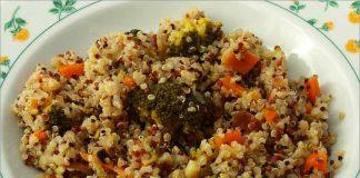 Receta de quinoa con brócoli fácil y rápida
