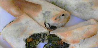 Receta de rollitos de espinacas y queso feta fácil y rápida