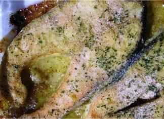 Receta de salmón a la mostaza fácil y rápida