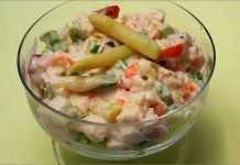 Receta de salpicón de cangrejo fácil y rápida