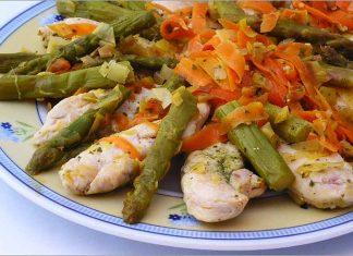 Receta de salteado de pollo con verduras fácil y rápida