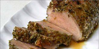 Receta de solomillo de cerdo al orégano fácil y rápida