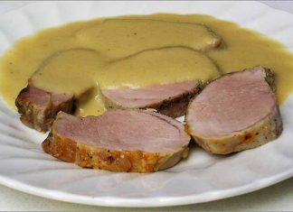 Receta de solomillo de cerdo asado fácil y rápida