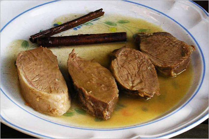 Receta de solomillos de cerdo a la canela fácil y rápida