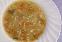 Receta de sopa minestrone ligera fácil y rápida