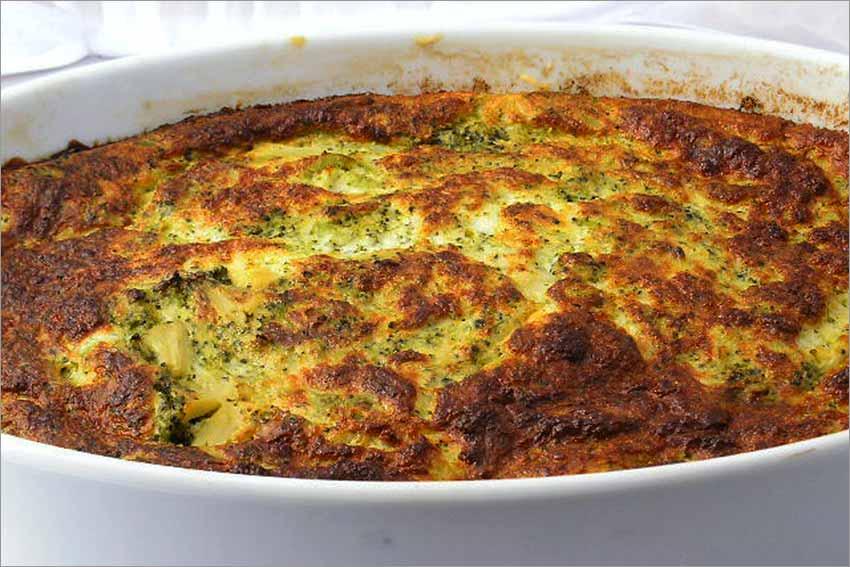 Soufflé de brócoli