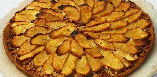 Receta de tarta de manzana fácil y rápida