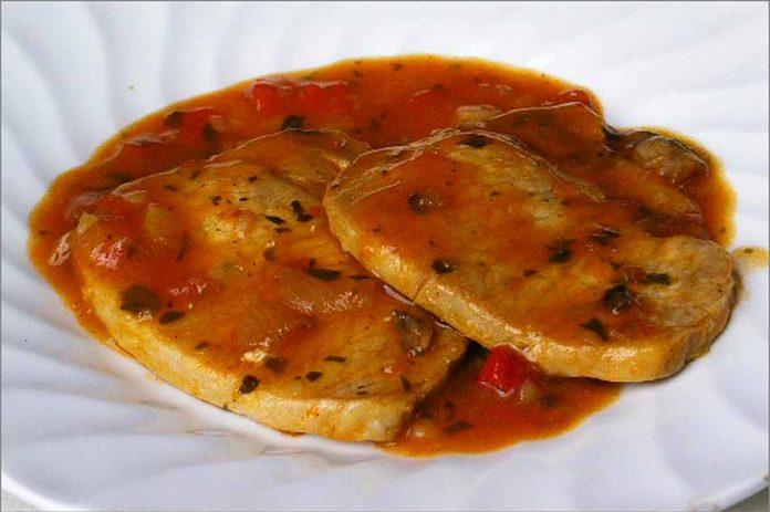 Receta de ternera en salsa roja fácil y rápida