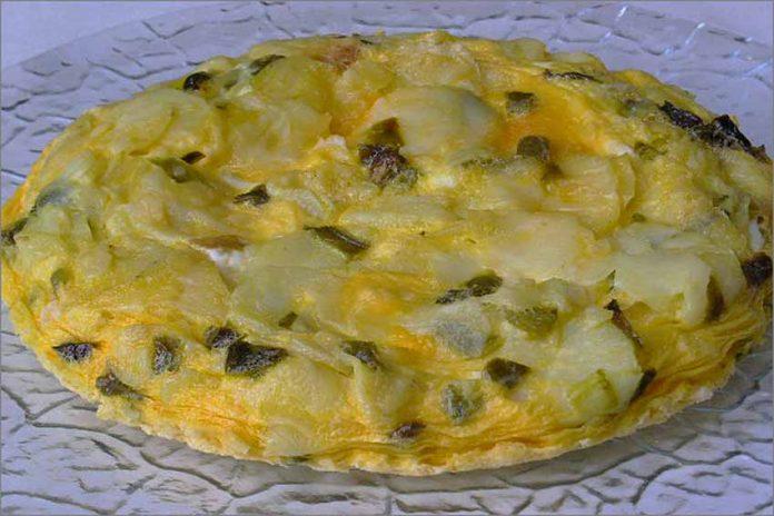 Receta de tortilla de patatas en microondas fácil y rápida