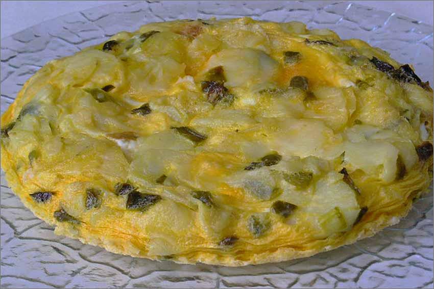 Tortilla de patatas en microondas
