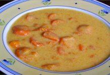 Receta de zanahorias a la crema fácil y rápida